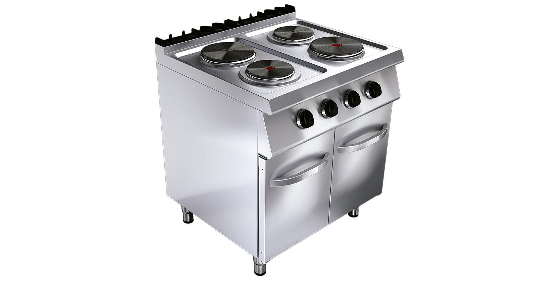 Cocina el ctrica ku g7k200e tedhinox - Cocina electrica media markt ...
