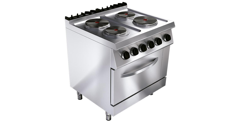 Cocina el ctrica ku g7k210e tedhinox - Cocina electrica media markt ...