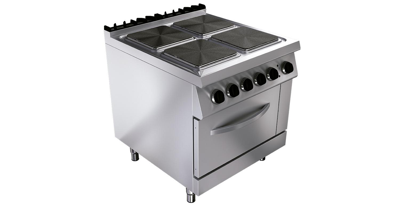 Cocina el ctrica ku g9k210e tedhinox - Cocina electrica media markt ...