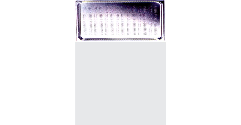 Cubeta GN en acero inoxidable, línea ECO 1/3 325x175mm [CG.1302]