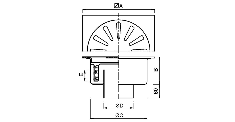 Sumidero 350x350mm [LEP020]
