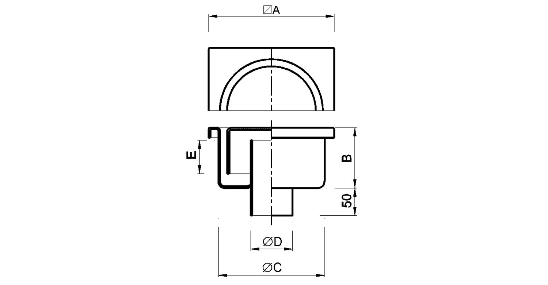 Sumidero 150x150mm [LEP070]